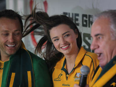 Miranda Kerr At Rugby World Cup