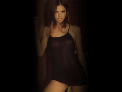Adriana Lima in underwear