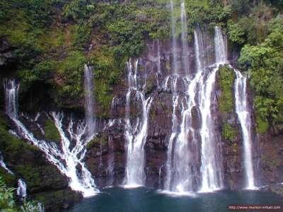 Natural Park Waterfall