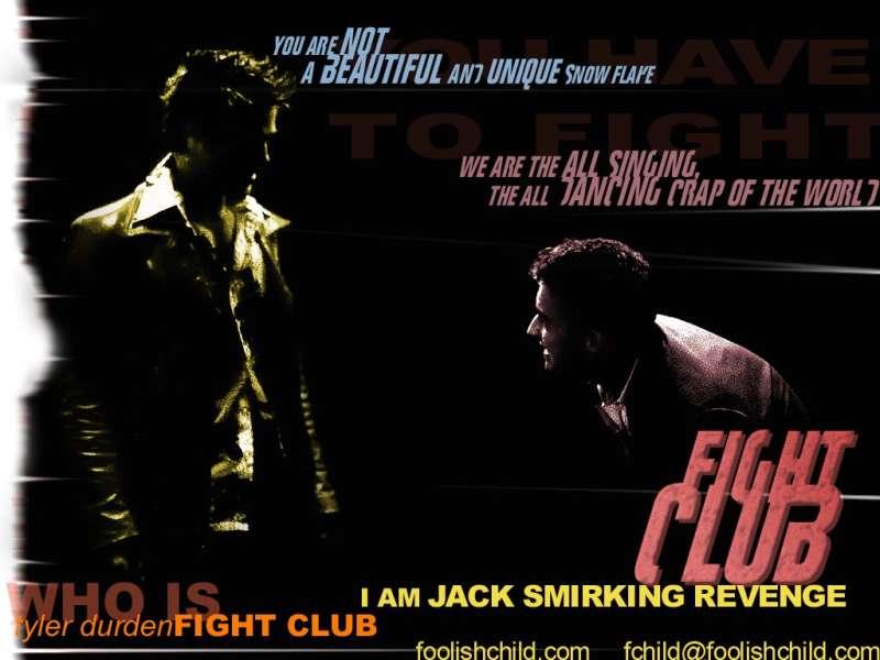Brad Pitt in Fight Club Movie