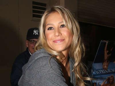 Anna Kournikova In New York