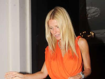 Gwyneth Paltrow In London