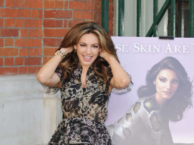Kelly Brook For Peta Campaign