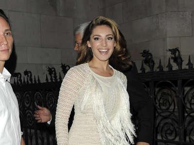 Kelly Brook In London Fashion Week