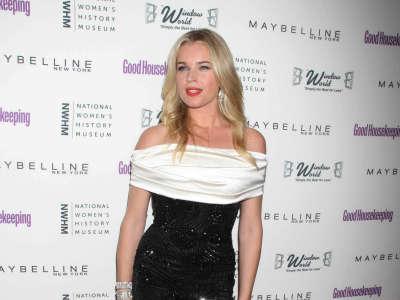 Rebecca Romijn At Annual Shine Awards