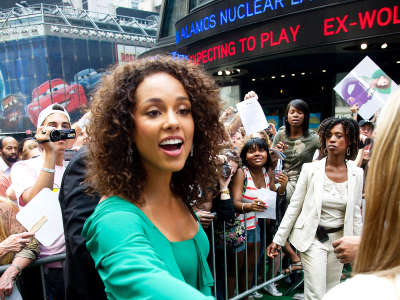 Alicia Keys At ABC Good Morning America