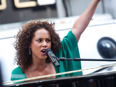 Alicia Keys At ABC Good Morning America