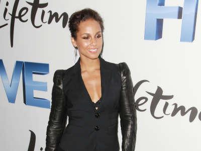 Alicia Keys At Lifetimes Five Premiere
