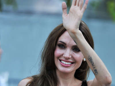 Angelina Jolie MoneyBall Premiere