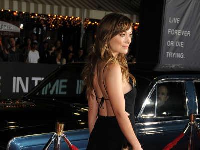 Olivia Wilde In Time Premiera In Los Angeles