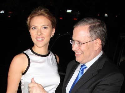 Scarlett Johansson In The NYC