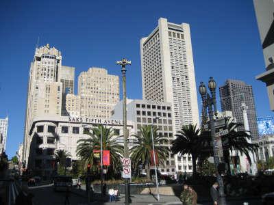Der Union Square In San Francisco