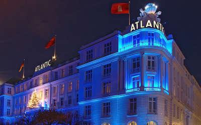 Hotel Atlantic Ausenansicht Winterlich