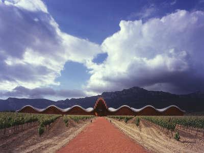 Laguardia Bodegas Ysios Architekt Santiago Calatrava1014a