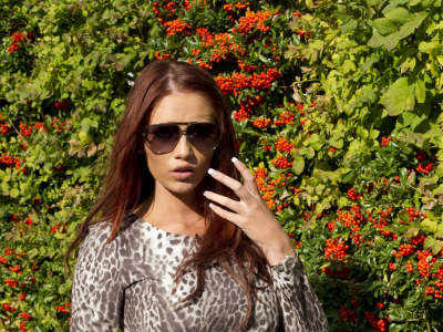 Amy Childs Filming In Essex