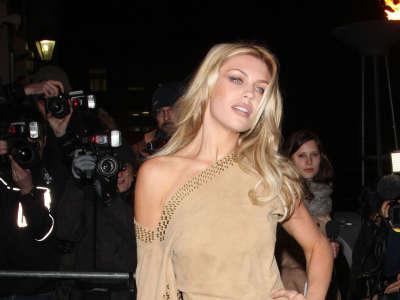 Abigail Clancy At British Fashion Awards