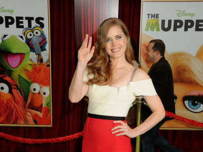 Amy Adams At The Muppets Premiere In LA