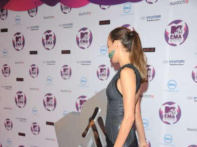 Irina Sheik At MTV European Music Awards