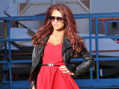 Amy Childs At London Studios