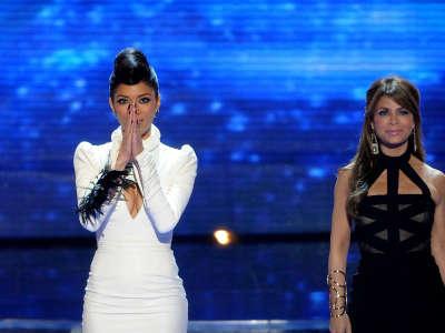 Nicole Scherzinger At X Factor