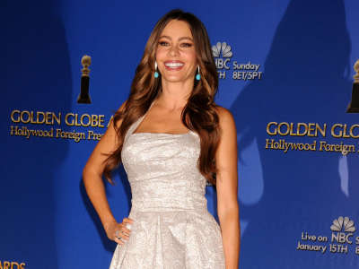 Sofia Vergara At Golden Globe Awards