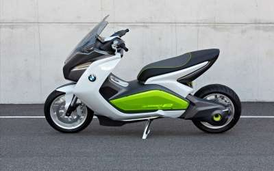 Bmw Concept E Scooter