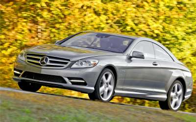Mercedes Benz CL550 4MATIC1
