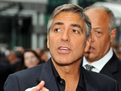 George Clooney 2 The Men Who Stare At Goats TIFF09