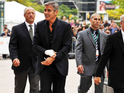 George Clooney 6 The Men Who Stare At Goats TIFF09