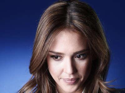 Jessica Alba At Promotion Photoshoot