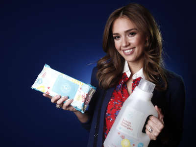 Jessica Alba At Promotion Photoshoot