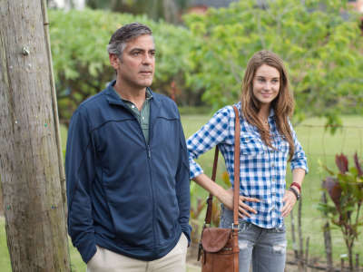 Descendants Movie Image George Clooney Shailene Woodley
