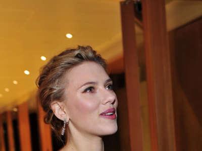 Scarlett Johansson In Berlin