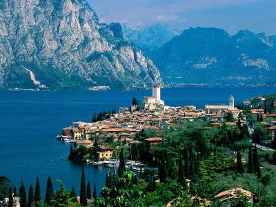 Lake Garda Malcesine Italy