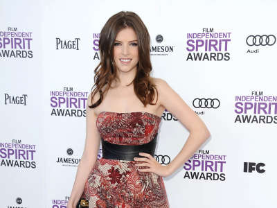 Anna Kendrick At Independent Spirit Awards