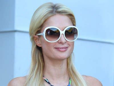 Paris Hilton In West Hollywood