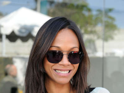 Zoe Saldana In Los Angeles