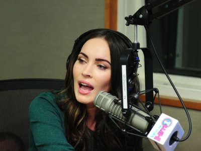 Megan Fox Visits SiriusXM Radio In NY
