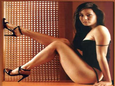 Lucy Liu, verry hot