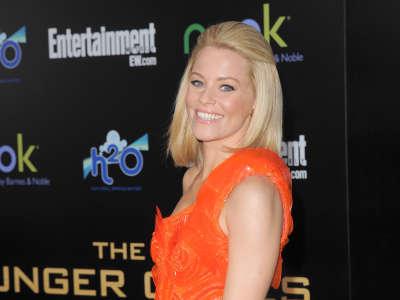 Elizabeth Banks The Hunger Games Premiere In LA