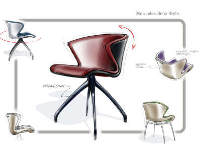Mercedes Benz Furniture Style