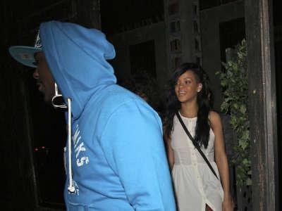 Rihanna Leaving The Roxbury