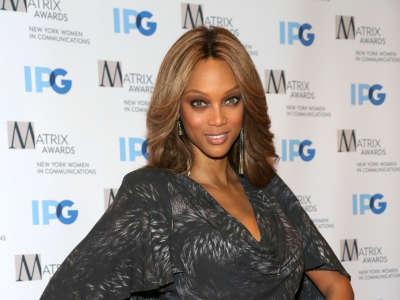 Tyra Banks Attends The Matrix Awards
