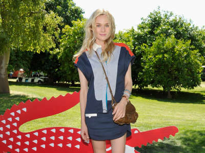 Diane Kruger At Lacoste Pool Party