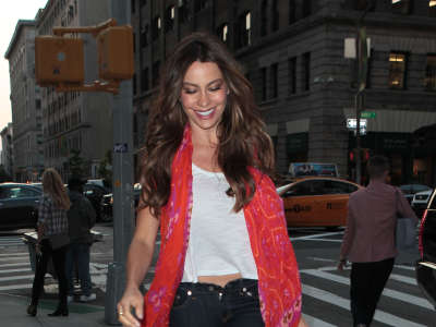 Sofia Vergara In Soho NYC