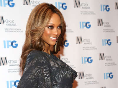 Tyra Banks Attends The Matrix Awards