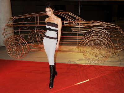 Victoria Beckham Unveils Range Rover