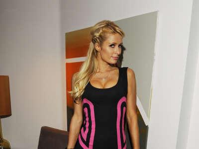Paris Hilton At Disco