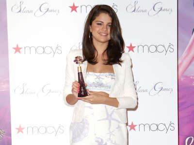 Selena Gomez At Macys In NYC