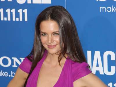 Katie Holmes Jack And Jill Hollywood Premiere In Los Angeles